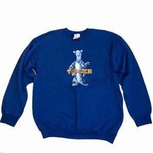 Disney Store Vintage Oversized Tigger Sweatshirt